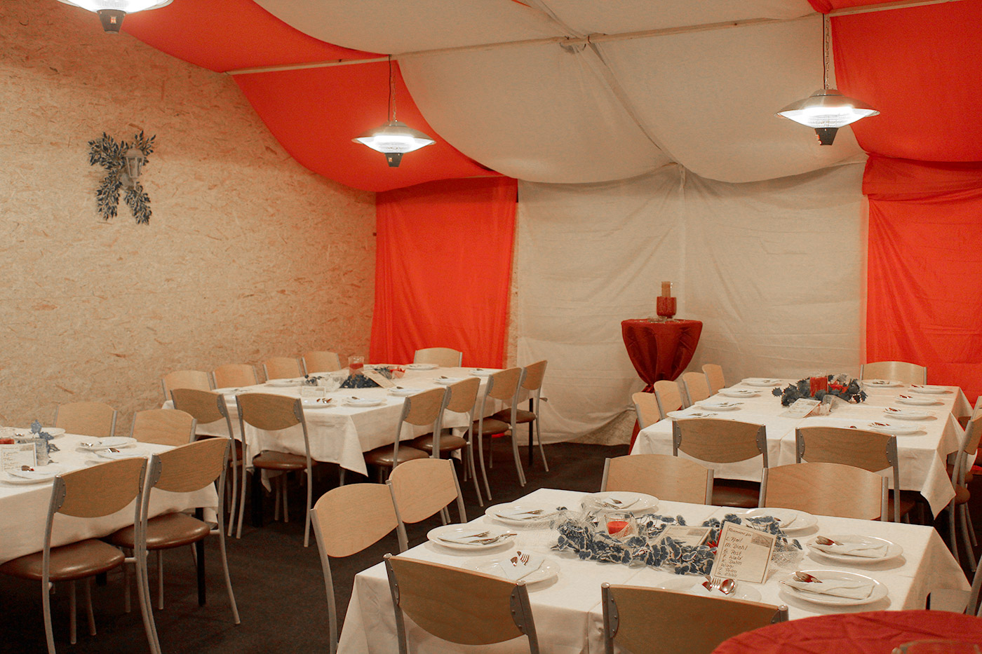 Pavillon festlich Gasthaus En d'r Burg