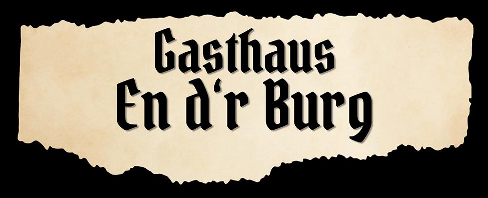 Logo Gasthaus En d'r Burg