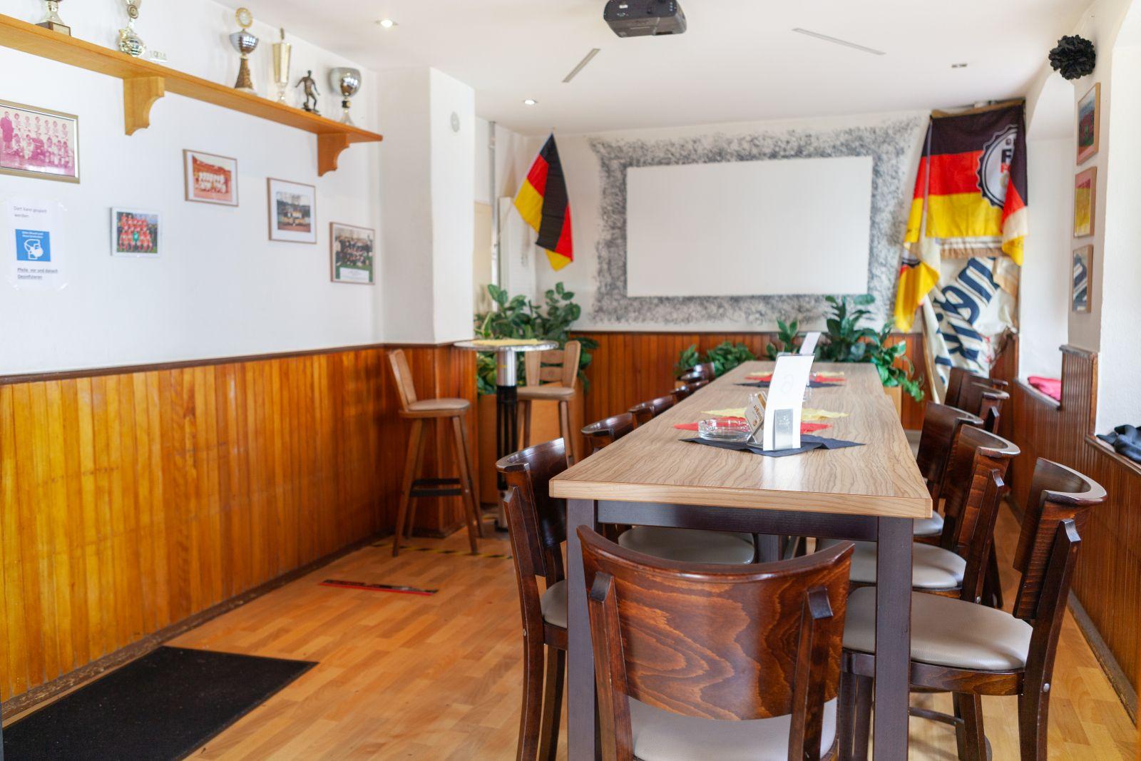 Innenbereich Gasthaus En d'r Burg