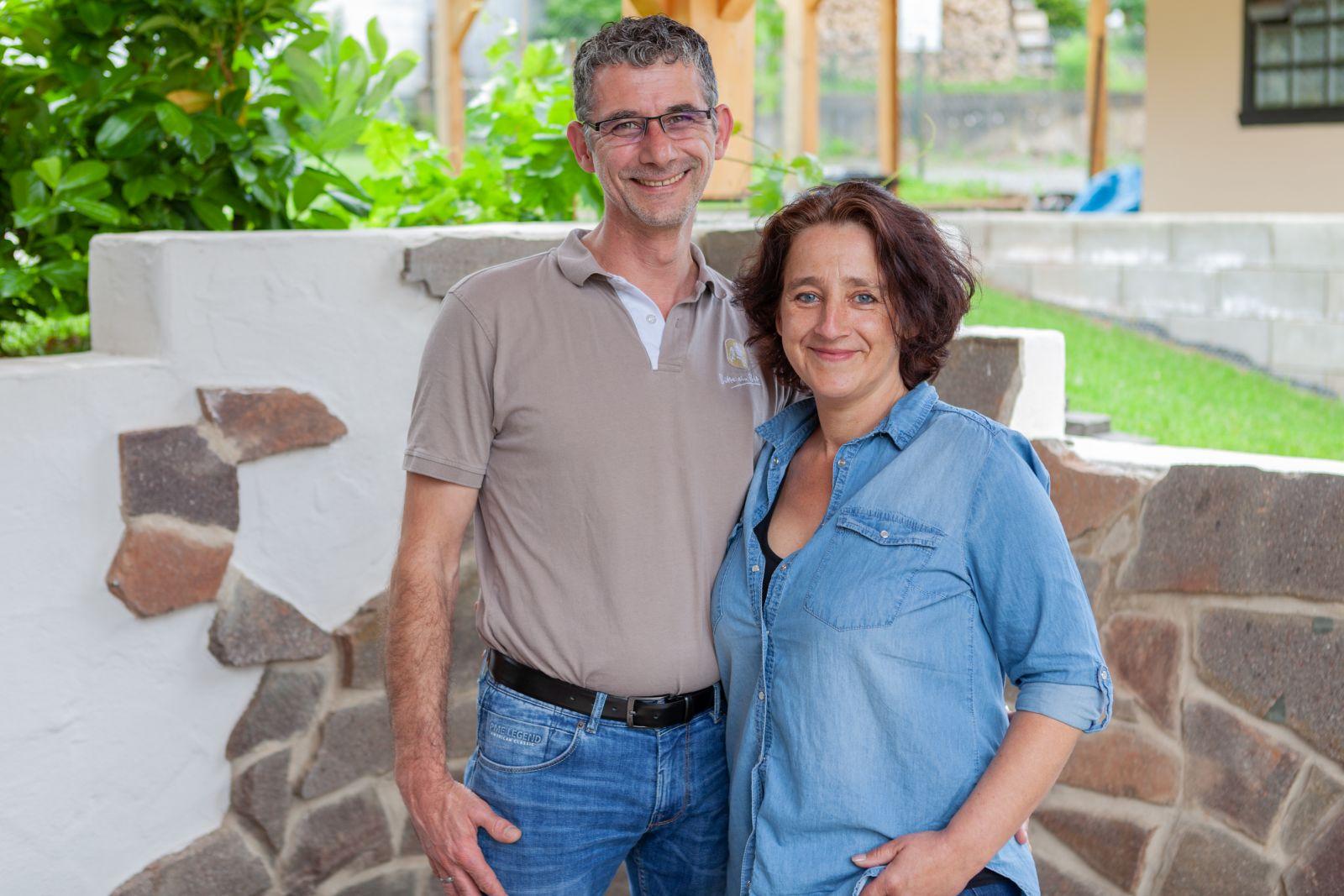Rudie und Angie vom Gasthaus En d'r Burg