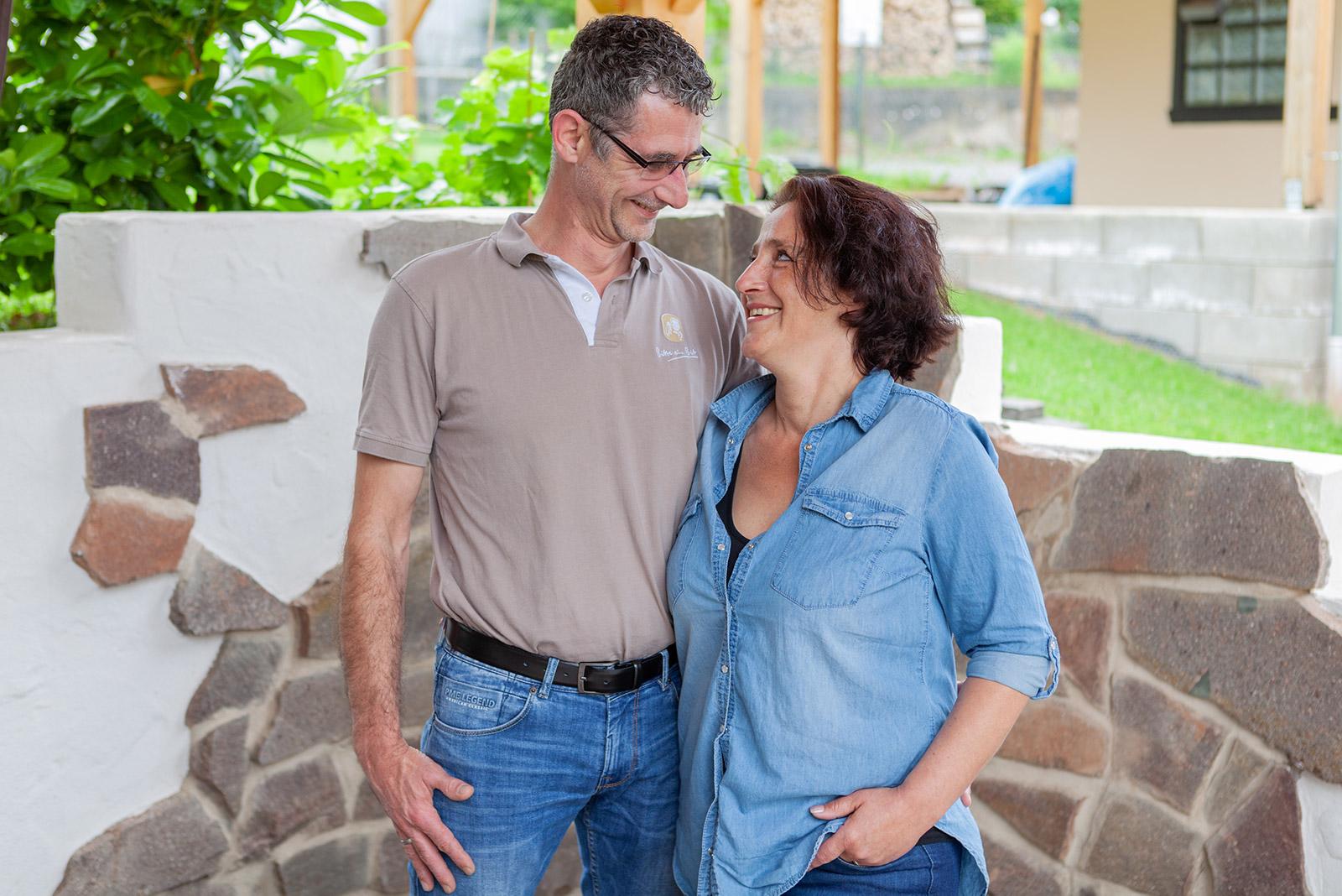 Rudi und Angie vom Gasthaus En d'r Burg